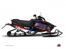 Graphic Kit Snowmobile Flow Yamaha Apex Red
