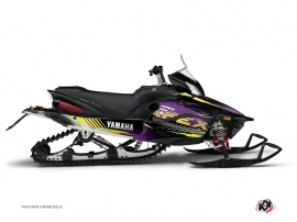 Graphic Kit Snowmobile Flow Yamaha Apex Purple