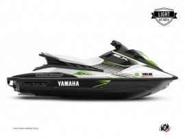 Graphic Kit Jet-Ski Flow Yamaha EX White Green LIGHT