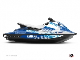 Graphic Kit Jet-Ski Flow Yamaha EX Blue White