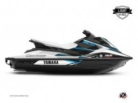 Graphic Kit Jet-Ski Flow Yamaha EX Blue LIGHT