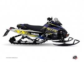 Yamaha FX Nitro Snowmobile FLOW Graphic kit Yellow