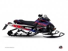 Yamaha FX Nitro Snowmobile FLOW Graphic kit Red