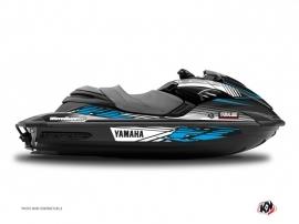 Graphic Kit Jet Ski Flow Yamaha FZR-FZS Blue