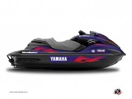 Graphic Kit Jet Ski Flow Yamaha FZR-FZS Red
