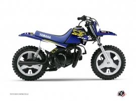 Graphic Kit Dirt Bike Flow Yamaha PW 50 Yellow