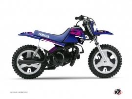 Graphic Kit Dirt Bike Flow Yamaha PW 50 Pink