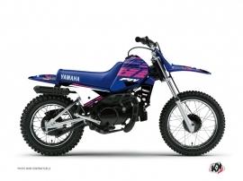 Yamaha PW 80 Dirt Bike FLOW Graphic kit Pink
