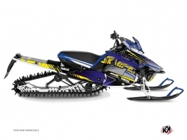 Yamaha SR Viper Snowmobile Flow Graphic Kit Yellow