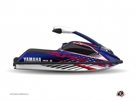 Graphic Kit Jet Ski Flow Yamaha Superjet Red