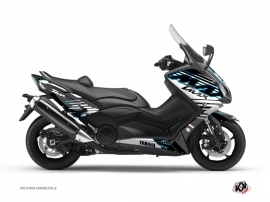 Graphic Kit Maxiscooter Flow Yamaha TMAX 500 Blue