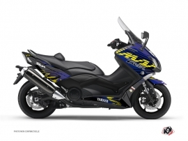 Graphic Kit Maxiscooter Flow Yamaha TMAX 500 Yellow