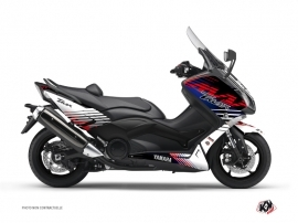 Graphic Kit Maxiscooter Flow Yamaha TMAX 500 Red