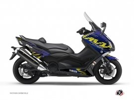 Graphic Kit Maxiscooter Flow Yamaha TMAX 530 Yellow
