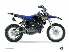 Graphic Kit Dirt Bike Flow Yamaha TTR 110 Yellow