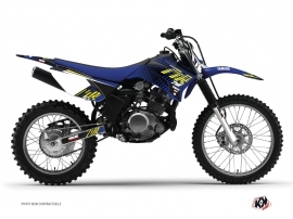 Graphic Kit Dirt Bike Flow Yamaha TTR 125 Yellow