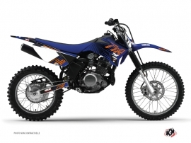 Graphic Kit Dirt Bike Flow Yamaha TTR 125 Orange