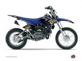 Graphic Kit Dirt Bike Flow Yamaha TTR 90 Yellow