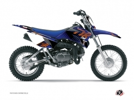 Graphic Kit Dirt Bike Flow Yamaha TTR 90 Orange