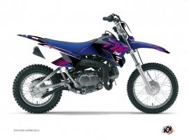 Graphic Kit Dirt Bike Flow Yamaha TTR 90 Pink