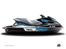 Graphic Kit Jet Ski Flow Yamaha VXR-VXS Blue