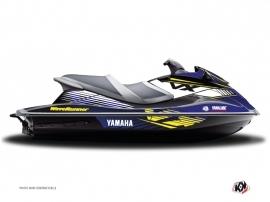 Graphic Kit Jet Ski Flow Yamaha VXR-VXS Yellow