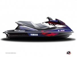 Graphic Kit Jet Ski Flow Yamaha VXR-VXS Red