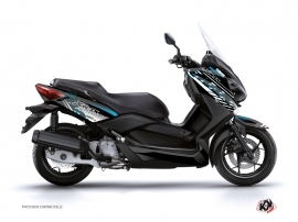 Graphic Kit Maxiscooter Flow Yamaha XMAX 125 Blue