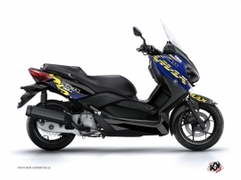 Graphic Kit Maxiscooter Flow Yamaha XMAX 400 Yellow