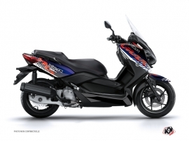 Graphic Kit Maxiscooter Flow Yamaha XMAX 400 Red