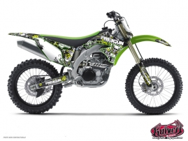 Kawasaki 125 KX Dirt Bike FREEGUN Graphic kit