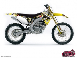 Suzuki 250 RMZ Dirt Bike FREEGUN Graphic kit