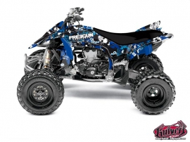Graphic Kit ATV Freegun Yamaha 450 YFZ R Blue