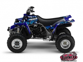 Yamaha Banshee ATV FREEGUN Graphic kit Blue