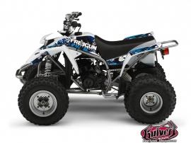 Yamaha Blaster ATV FREEGUN Graphic kit Blue