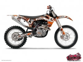 KTM EXC-EXCF Dirt Bike Freegun Graphic Kit