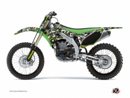 Kawasaki 125 KX Dirt Bike FREEGUN Graphic kit Green