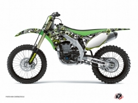 Kawasaki 250 KX Dirt Bike FREEGUN Graphic kit Green