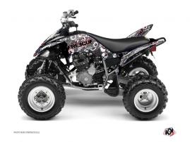 Yamaha 250 Raptor ATV FREEGUN Graphic kit Red