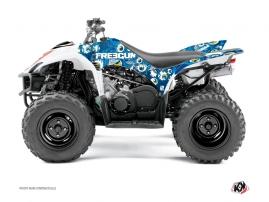 Yamaha 350-450 Wolverine ATV FREEGUN Graphic kit Blue