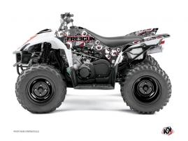 Yamaha 350-450 Wolverine ATV FREEGUN Graphic kit Red