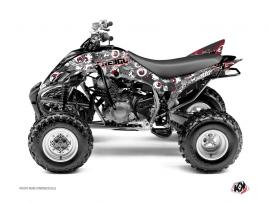Graphic Kit ATV Freegun Eyed Yamaha 350 Raptor Red