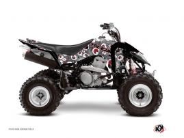 Suzuki 400 LTZ IE ATV FREEGUN Graphic kit Grey Red