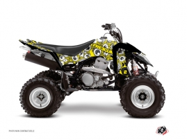 Graphic Kit ATV Freegun Eyed Suzuki 400 LTZ IE Yellow