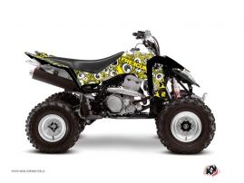 Suzuki 400 LTZ IE ATV FREEGUN Graphic kit Yellow