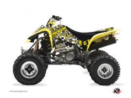 Suzuki 400 LTZ ATV FREEGUN Graphic kit Yellow