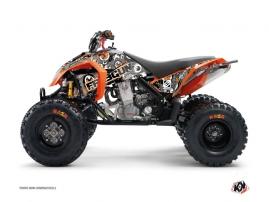 Graphic Kit ATV Freegun Eyed KTM 450-525 SX Grey Orange