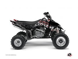 Graphic Kit ATV Freegun Eyed Suzuki 450 LTR Grey Red