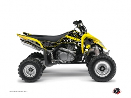 Graphic Kit ATV Freegun Eyed Suzuki 450 LTR Yellow