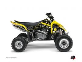 Suzuki 450 LTR ATV FREEGUN Graphic kit Yellow